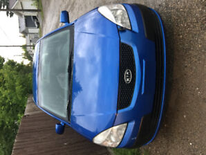 2007 Kia Rio 5 low mileage and great on fuel