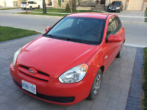 2007 Hyundai Accent Coupe (2 door)