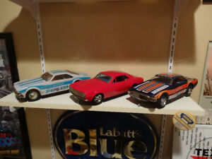 Vintage Tin Cars from the 50's-70's