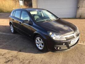 55 reg Vauxhall Astra 1.7 CDTi SXi 5 Door Jet Black Metallic.