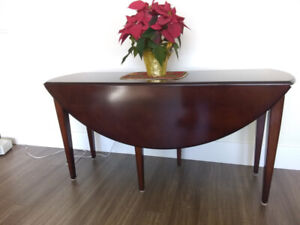 Beautiful Bomb Bay Co. Drop Leaf Table in Excellent Condition