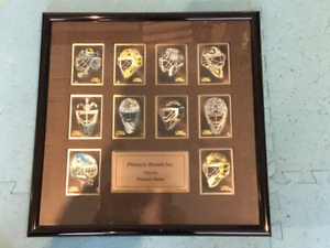 93-94 pinnacle masks inserts framed