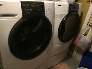 Front load washer and dryer kenmore