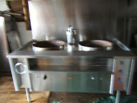 commercial wok for sale