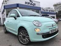 2015 Fiat 500 LOUNGE Manual Hatchback
