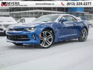 2018 Chevrolet Camaro LT  6SPD TAPSHIFT LEATHER, CONVERTIBLE, RS
