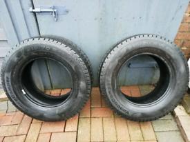 continental vango motorhome tyres 215 70r 15cp