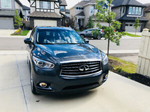 2014 Infiniti QX60 Deluxe Touring PKG with complete set of Winte