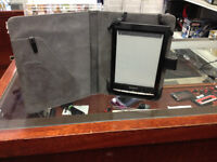 "Sony E Book Reader Model # PRST1 - 6 "" Touch Screen"