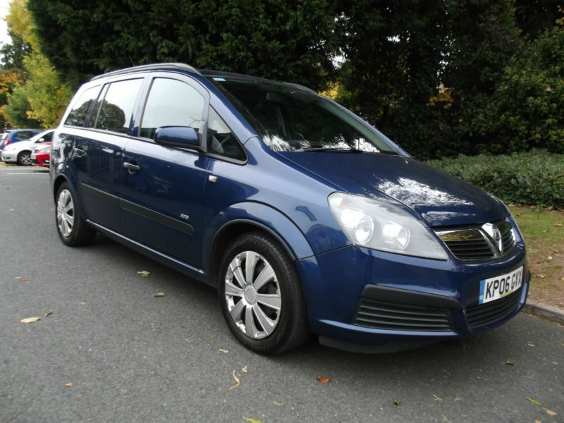 VAUXHALL ZAFIRA LIFE 1.6 16v 2006 WITH LOW MILEAGE & FULL VAUXHALL HISTORY