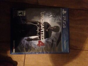 Uncharted 4 ps4 brand new West Island Greater Montréal image 2