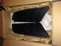 Roush Hood Vents and Rocker Winglets for 2015 Ford Mustang GT