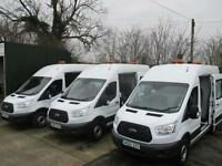 16 reg FORD TRANSIT T350 RWD 125 bhp CREW, MESS, MESSING UNIT, WELFARE VAN