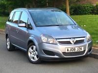 2008 Vauxhall Zafira 1.6 16v Exclusive 5DR 7 Seater MPV