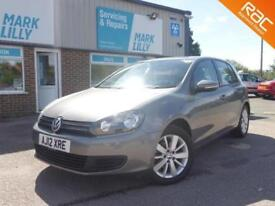 2012 VOLKSWAGEN GOLF MATCH DSG BLUE-MOTION £20 TAX MAIN DEALER HISTORY
