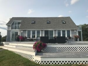 Restored heritage home in Chester Basin, overlooking Oak Island