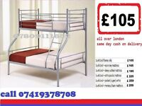 NEW TRIO SLEEPER BUNK BED WITH MATTRESS / KIDS BED
