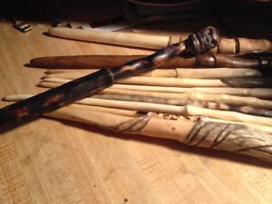 Handmade Wooden Wands