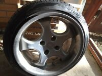 Brock alloy wheels 4x108
