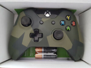 XBOX ONE WIRELESS CONTROLLER GK4-00042 CAMO SPECIAL EDITION AF