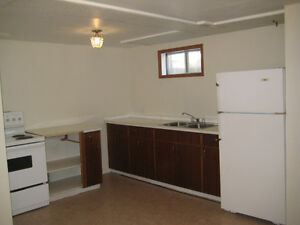 Well cleaned 3 bedrooms basement apt. is available now