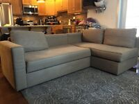 IKEA couch with storage
