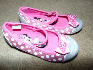 10t minnie mouse shoes worn once