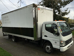 Mitsubishi Fuso 3 Ton Moving / Delivery Truck OBO