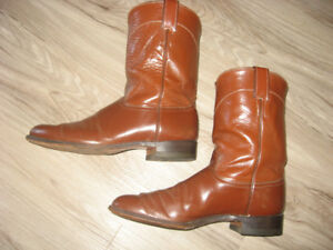 Justin Mens Western Roper Boots  Style 3802 Size 11B