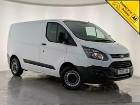 2017 FORD TRANSIT CUSTOM 270 PARKING SENSORS CRUISE CONTROL 1 OWNER SVC HISTORY