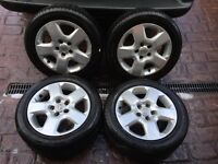 Astra alloy wheel look wheels and tyres