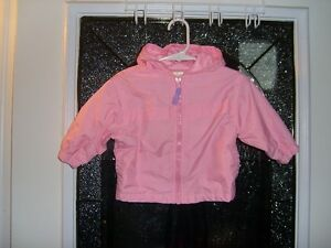 Pink Windbreaker Jacket -Size 12 mo Kitchener / Waterloo Kitchener Area image 1