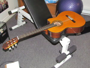 Yamaha classical guitar with pick-up for sale