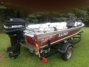 16' Lund boat package