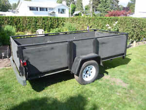 For Sale - Open Utility Trailer with 3500 lb Axel