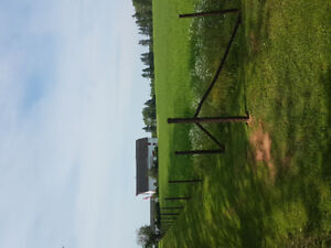 Pasture for turnout. 15 minutes east of Charlottetown .