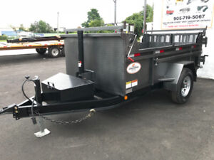 DUMP TRAILER NEW EXECUTIVE SERIES SINGLE AXLE