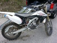 Yamaha YZ450 2010 low hours