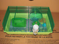 cage a hamster tout equiper