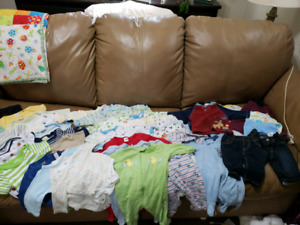 0 to 3 month baby boy lot