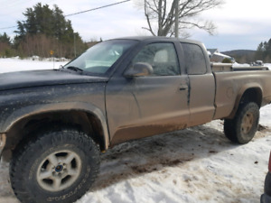 1999 dodge  Dakota  v8 only trads