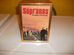 THE SOPRANO'S SEASON 3.BOX SET, 4 VHS TAPES.EXCELLENT SHAPE.