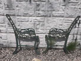 Cast Iron Bench Ends / Benches / Garden Furniture / Reclained Salvage