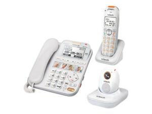 Vtech SN6197 CareLine Corded/Cordless Phone + Safety Pendant