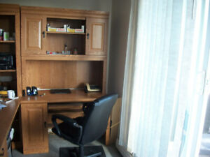 Excellent Condition Desk and Hutch only
