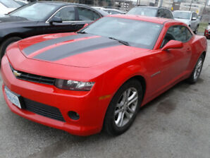 2014 Chevrolet Camaro Coupe, FREE OF ACCIDENTS, PRIVATE SALE