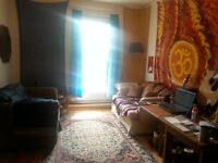 Roommate wanted ASAP for cozy NDG apartment. 2 mins to metro!