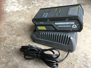 Yardworks 40v Battery and Charger (with String Trimmer)