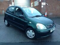1999 Toyota Yaris 1.0 GLS 5 Door Hatch 12 Months MOT
