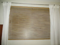 PVC imitation wood blinds